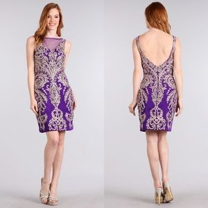1643 Purple Dress